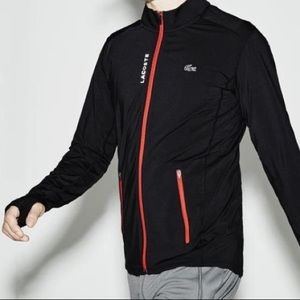 Lacoste Sport Mens Black Reflective Jacket XL